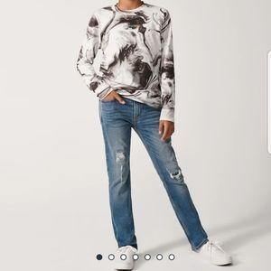 Abercrombie kids boy/girl skinny slim jeans